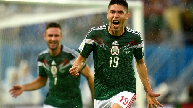 Peralta downs Cameroon, gets Mexico rolling