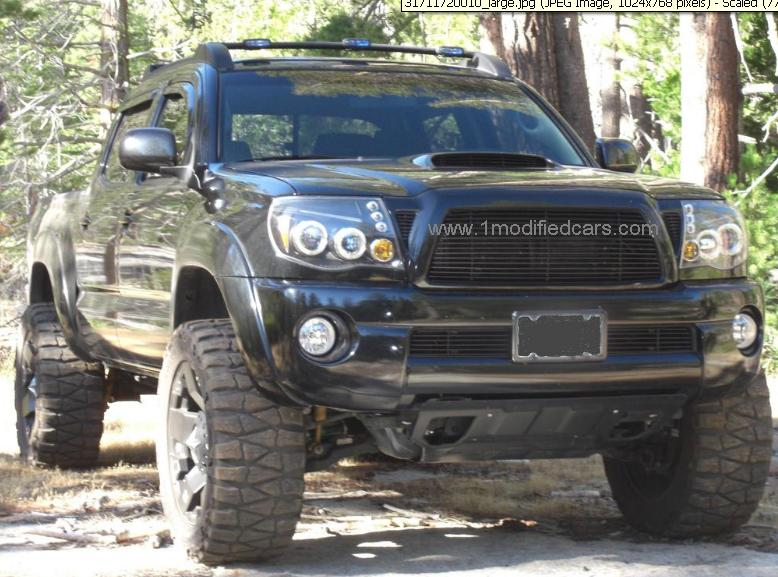 Modified Cars: Modified Toyota Tacoma