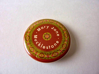 Mary Jane Mucklestone badge