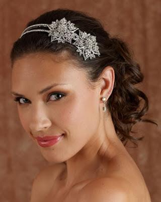 Brautfrisuren für kurzes Haar 2013