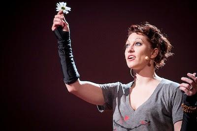 Amanda Palmer TED talk image