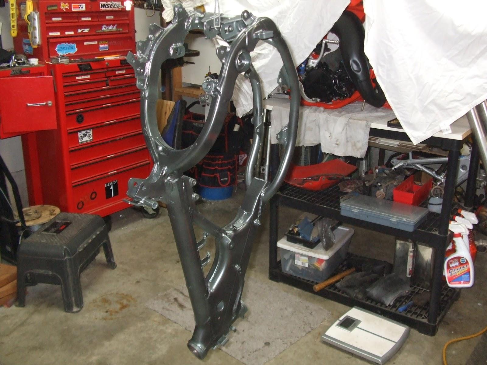 Frame Paint   RM125 Project