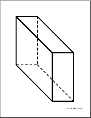 Rectangular prisms actually look like this: