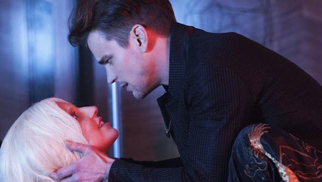 Lady Gaga and Matt Bomer in 'American Horror Story: Hotel'