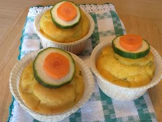 antipasto green: mufffin alle zucchine