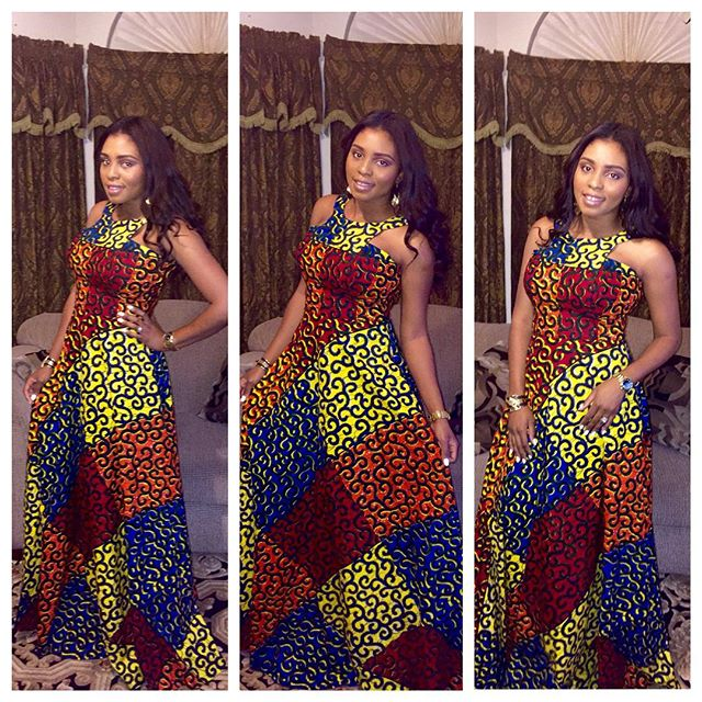 Beautiful Lovely Ankara Long Gown Styles - DeZango Fashion Zone