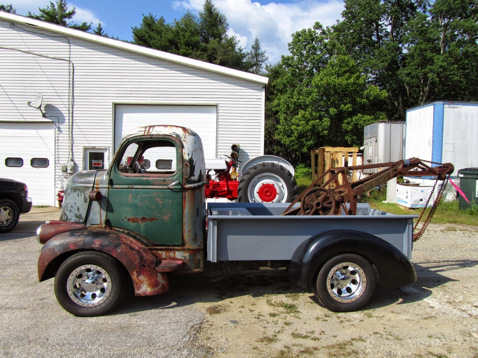 used tow truck rollback for sale ford and more machinio. Black Bedroom Furniture Sets. Home Design Ideas