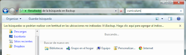 Busqueda de Windows