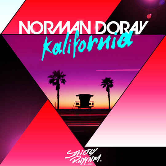 norman doray kalifornia cover