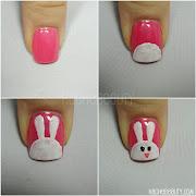 Otras opciones interesantes para pintar las uñas son: uã±as de conejo