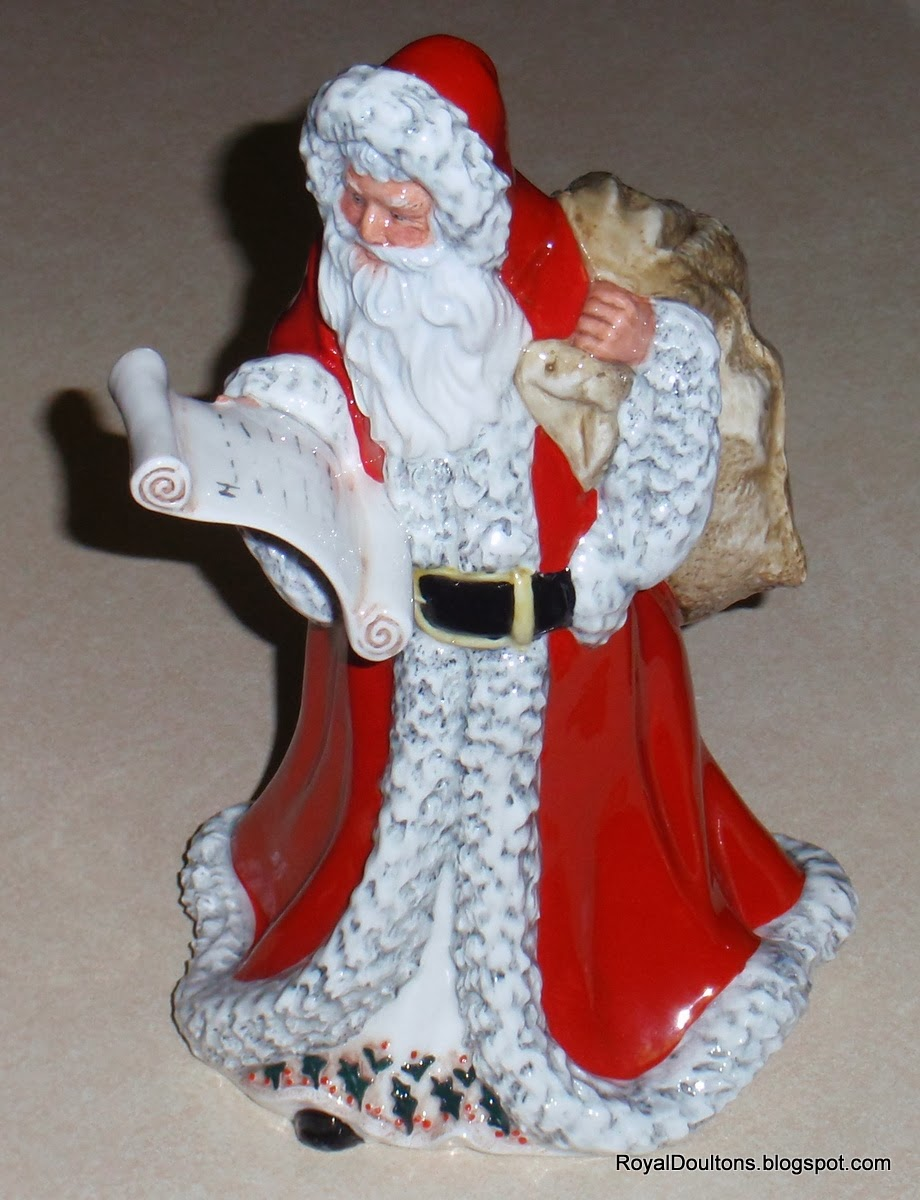 Royaldoultons quot father christmas royal doulton figurine