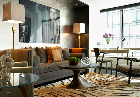 Delightful Being Partial Myself To Masculine Shapes And Forms In Decorating, Whether  In An Antique Or In A Piece Of Art, I Can Appreciate How David Uses  Textiles And ...