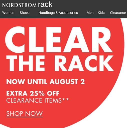 Nordstrom Rack December Coupon Codes, Promos & Sales. Nordstrom Rack coupon codes and sales, just follow this link to the website to browse their current offerings.