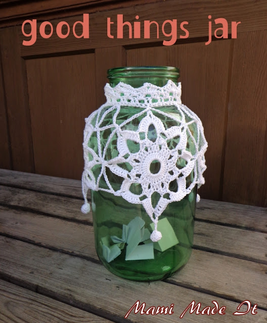 My Good Things Jar - Mein Gute Dinge Glas