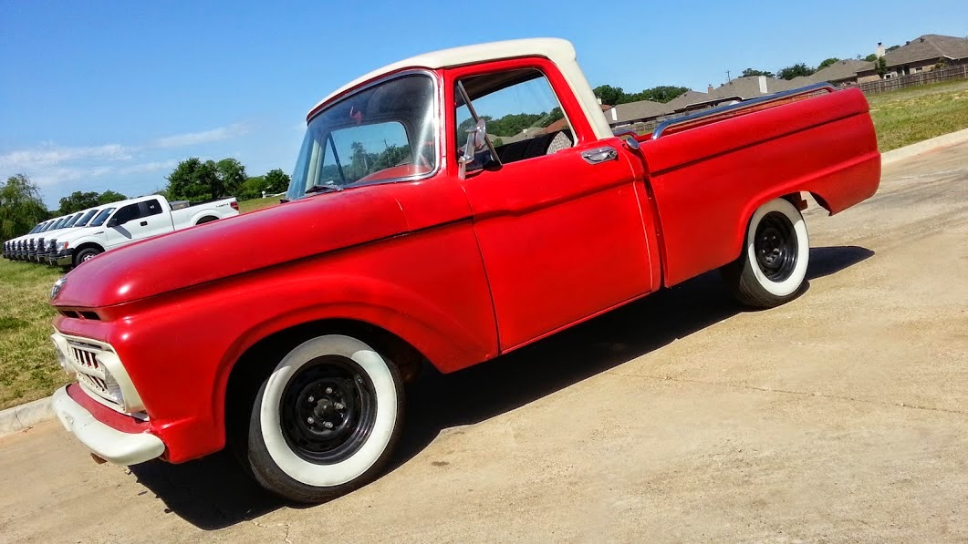 2 995 For Sale Classic 1964 Ford F 100 Pickup Truck Road