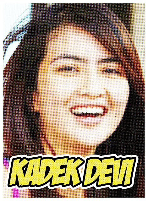 Kadek Devi Komic Look Effect