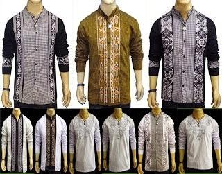Contoh Baju Muslim Pria Modern
