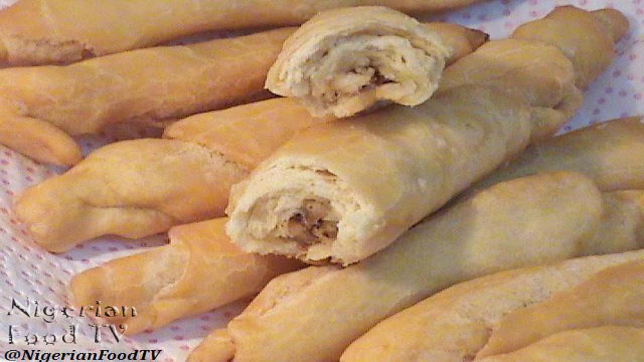 Nigerian fish rolls , Nigerian fish rolls recipe