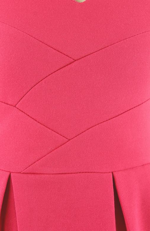 Dorothy Perkins-inspired Lampshade PETITE Dress - Raspberry