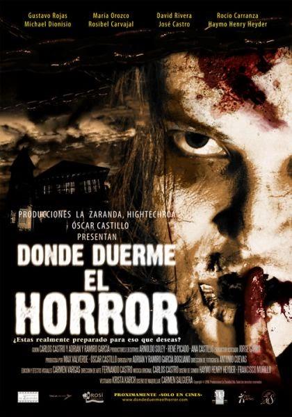 DONDE DUERME EL HORROR (2010)