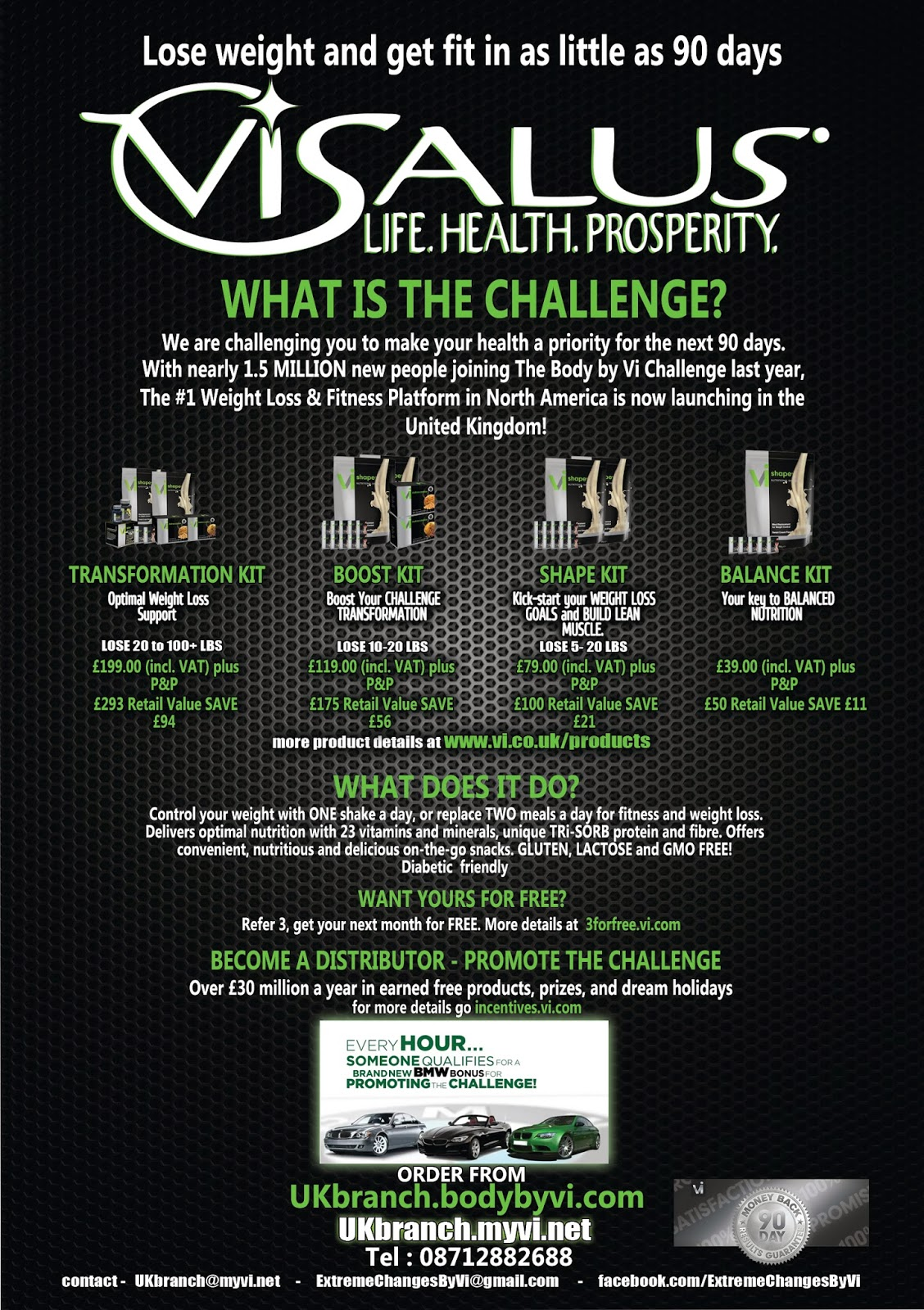 1 stop design and print visalus flyer visalus flyer reheart Choice Image