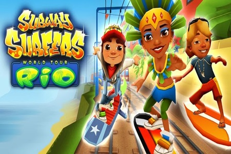 Subway Surfers Rio Edition Mod UNLIMITED COINS APK(No Root)