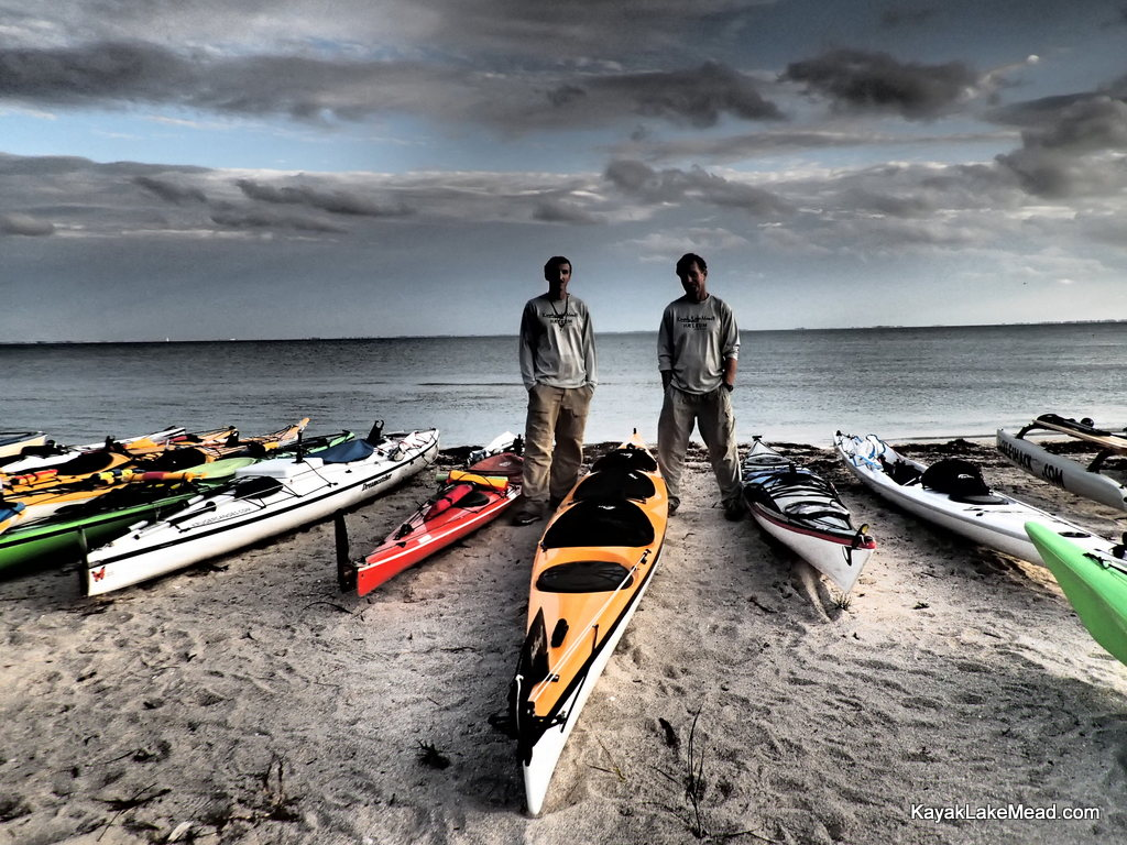 Druce Finlay, Robert Finlay, Start Beach, Everglades Challenge, 2013