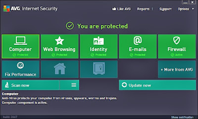 Free Download AVG Internet Security 2013 Full