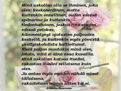 hyvää ystävänpäivää runo Oulu