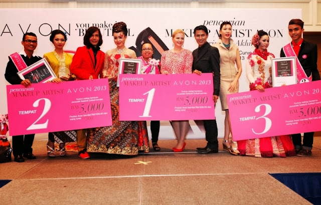 Avon makeup artist search 2013, avon, the ultimate makeup artist, pesona batik, makeup, nasha aziz, zulfazli suhadi, zamil idris, Avon Makeup Artist Search 2013 winners