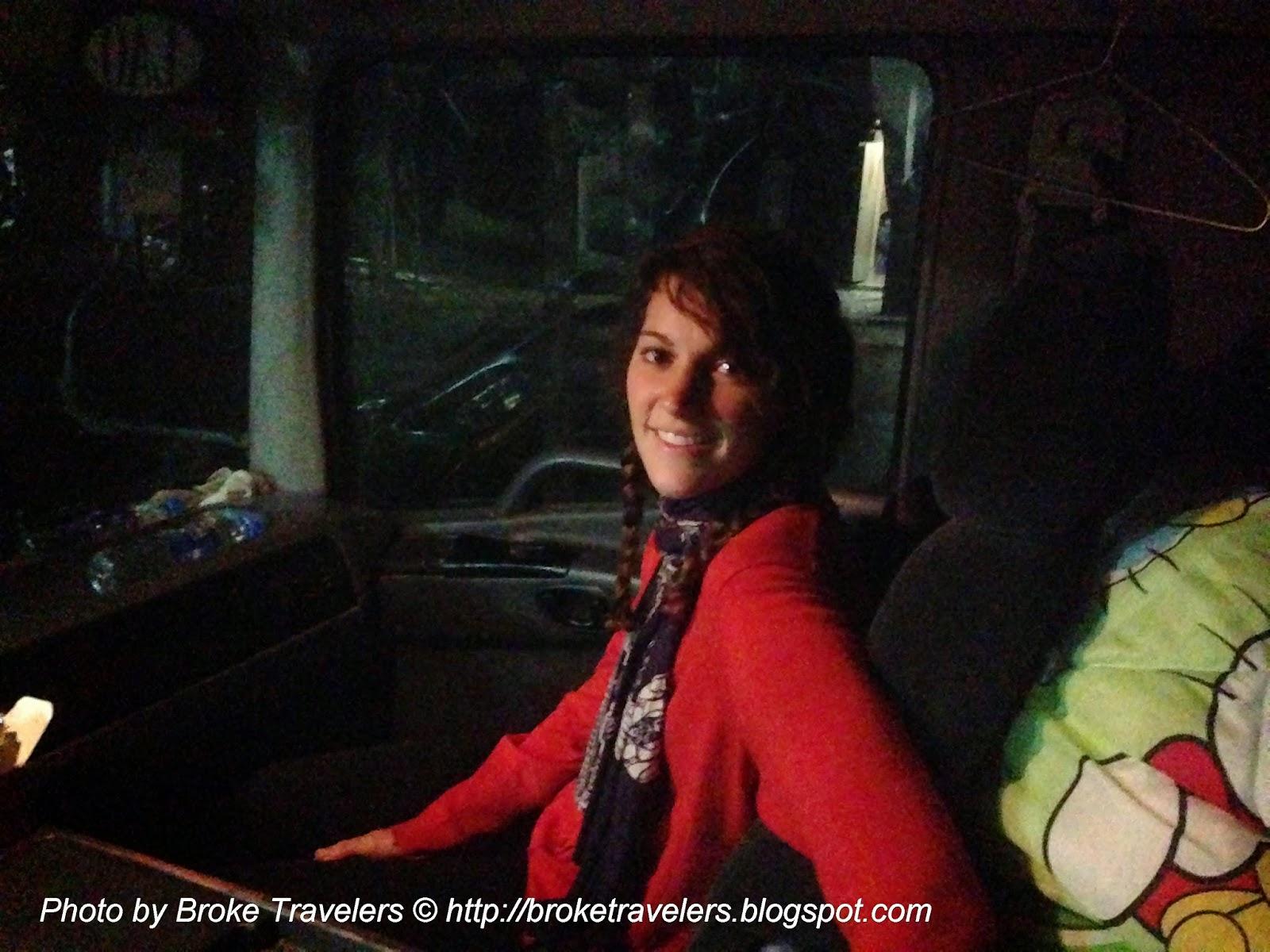 hitchhiking truck vietnam