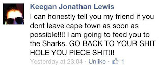 Keegan Jonathan Lewis Death Threat