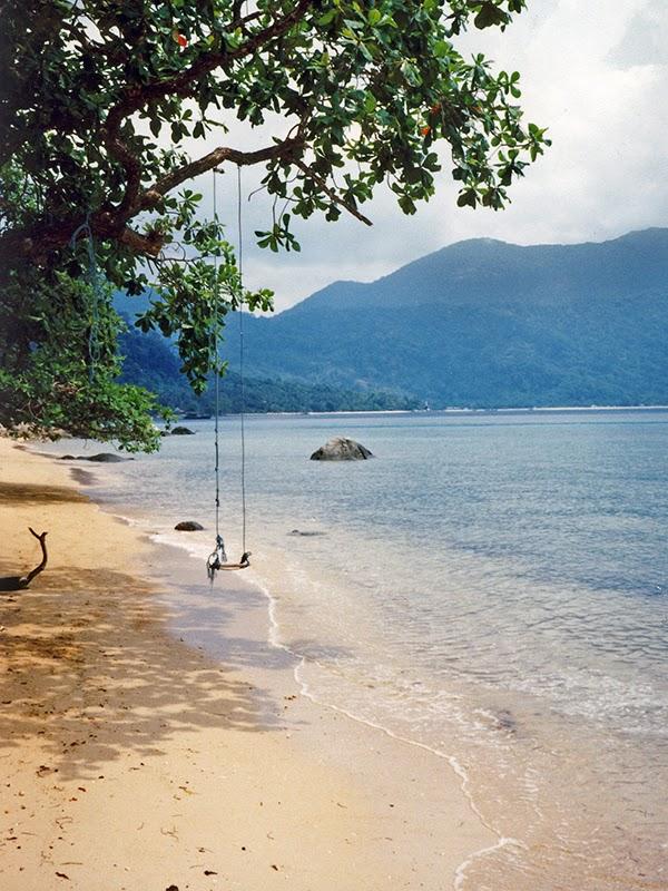 Photo de plage sur l'île de Tioman en Malaisie