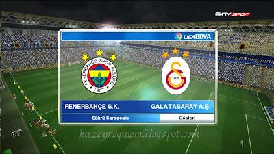 Pes 2013 Fenerbahçe Şükrü Saraçoğlu stadyum yaması 2