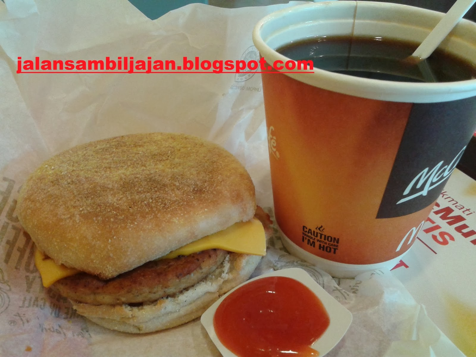 Paket Sausage Mc Muffin McDonald