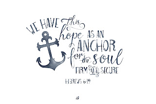 LostBumblebee ©2015 MDBN : Hope is an Anchor Hebrews 6:19 : Free Donate to Download Printable : Personal Use Only.