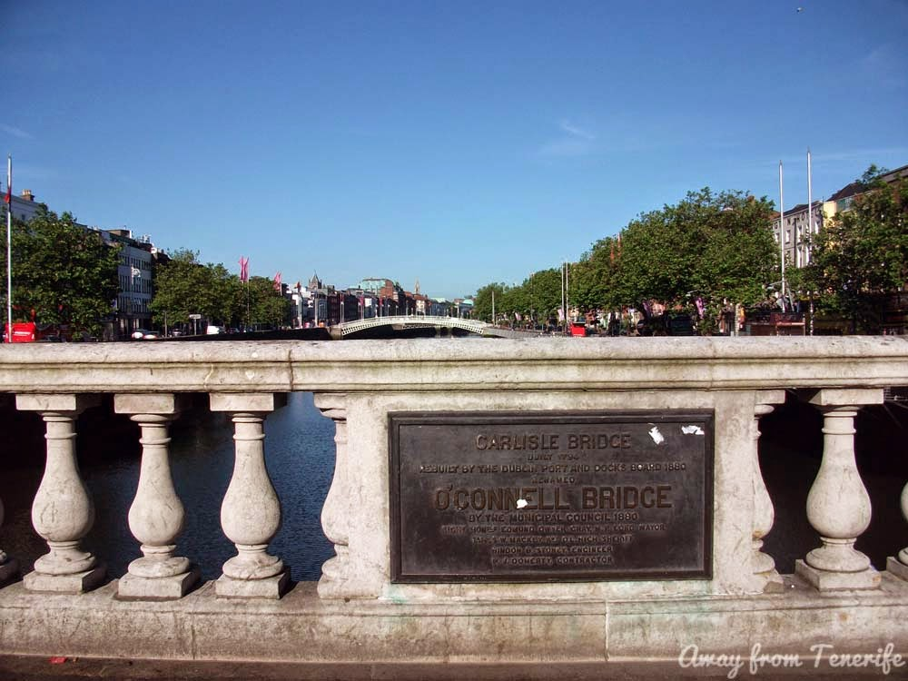 Dublin O'Connell Bridge