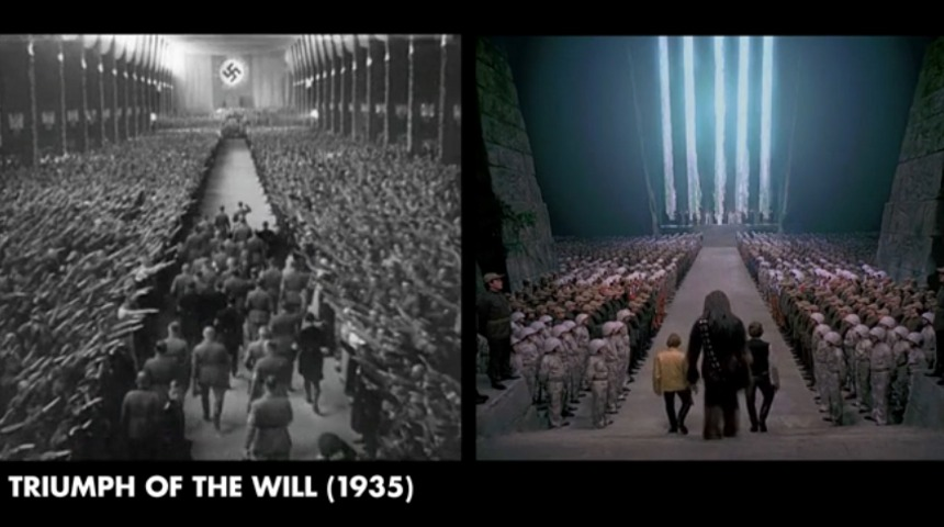 hitlers triumph of the will Triumph of the will, says dan olson of the analytical video series folding ideas, is not a triumph of cinema already the proposition runs counter to what many of us learned in film studies classes, whose professors assured us that leni riefenstahl's 1935 glorification of nazi germany.