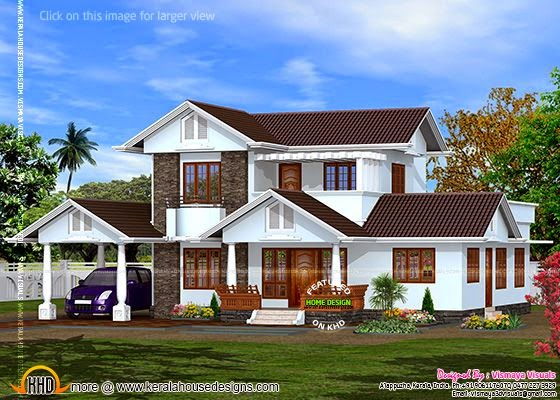 Kerala style villa