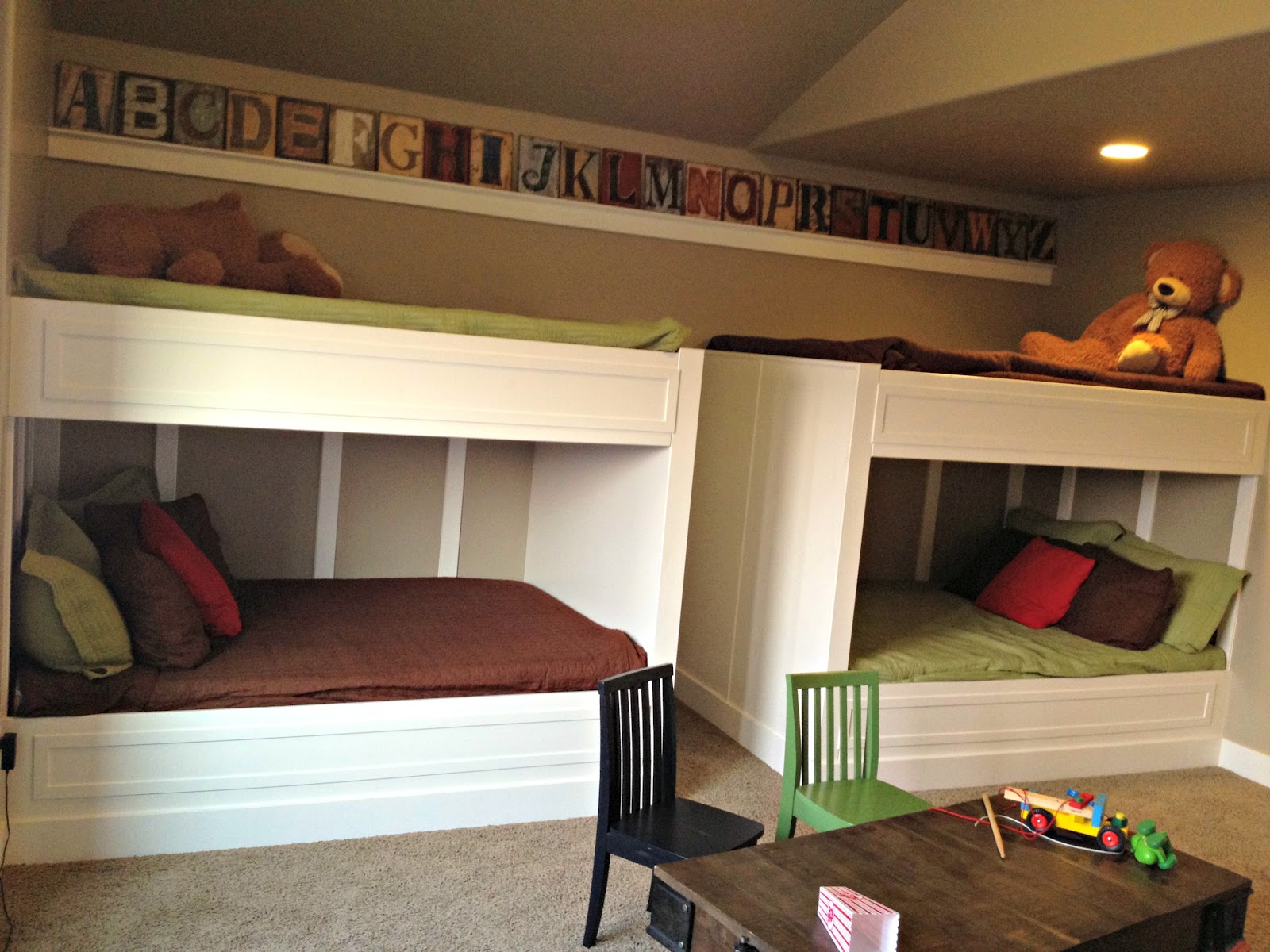 Built In Beds On Pinterest Modern Bunk Beds Bunk Bed And Adult Loft Bed