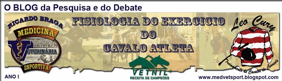 <center>Medicina Veterinária Esportiva - Fisiologia do Exercício</center>