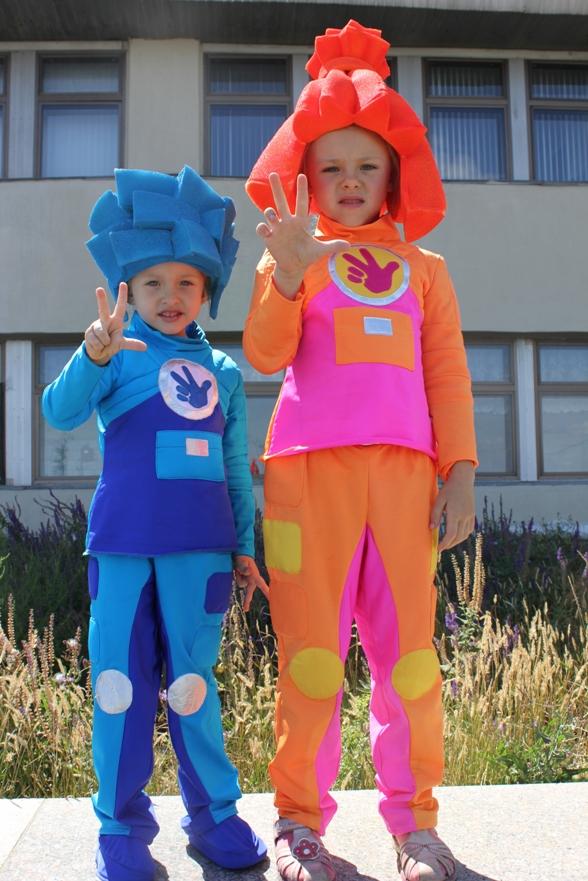 Детский костюм симки своими руками 10