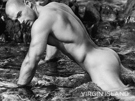 Todd Sanfield Naked in 'Virgin Island' Book