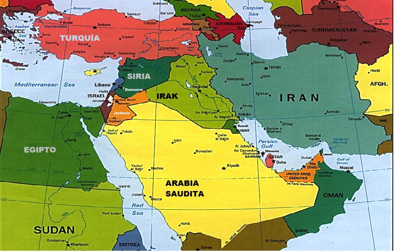 Mapa Del Medio Oriente Antiguo