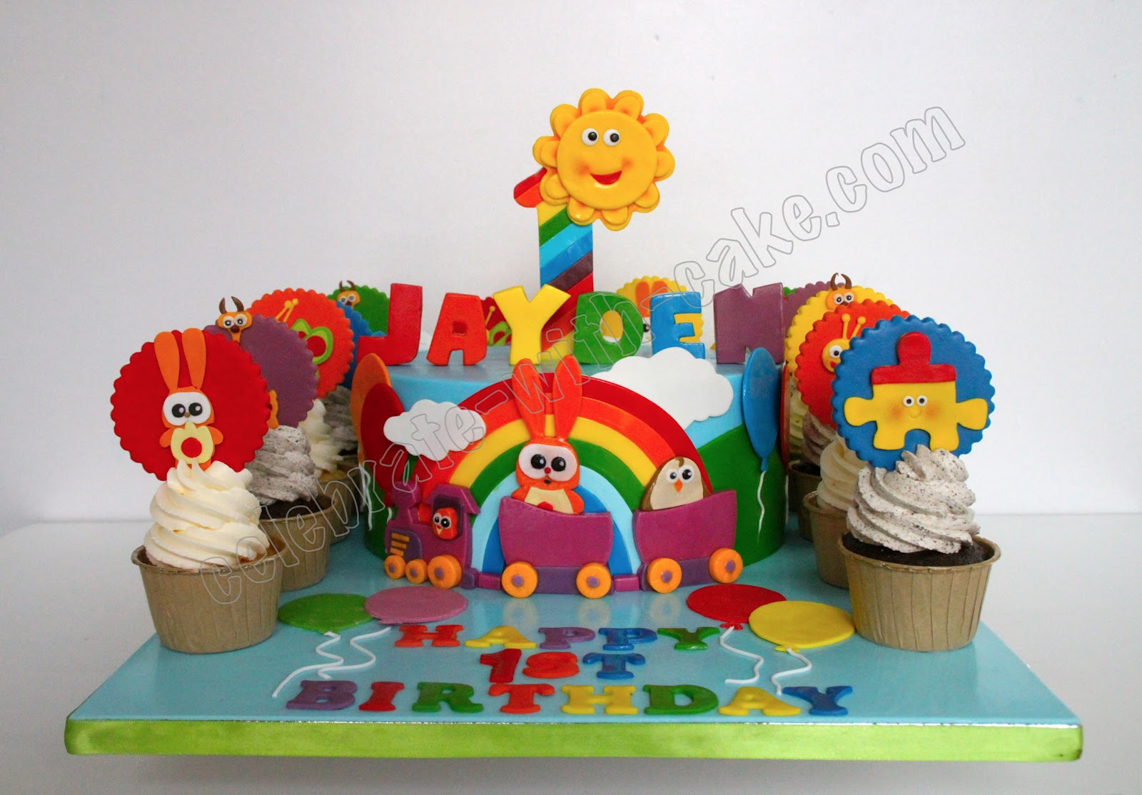 Celebrate with Cake Baby TV Themed Cake