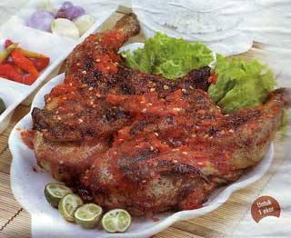 Resep Bahan Pelecing Ayam Lombok :