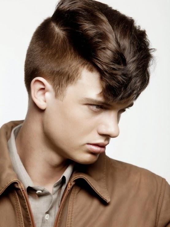 rockabilly rambut pria