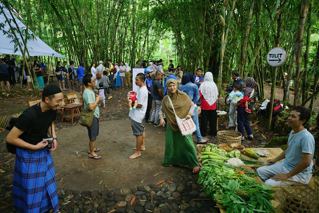 Pasar Papringan, Kebun Bambu Disulap Jadi Pasar