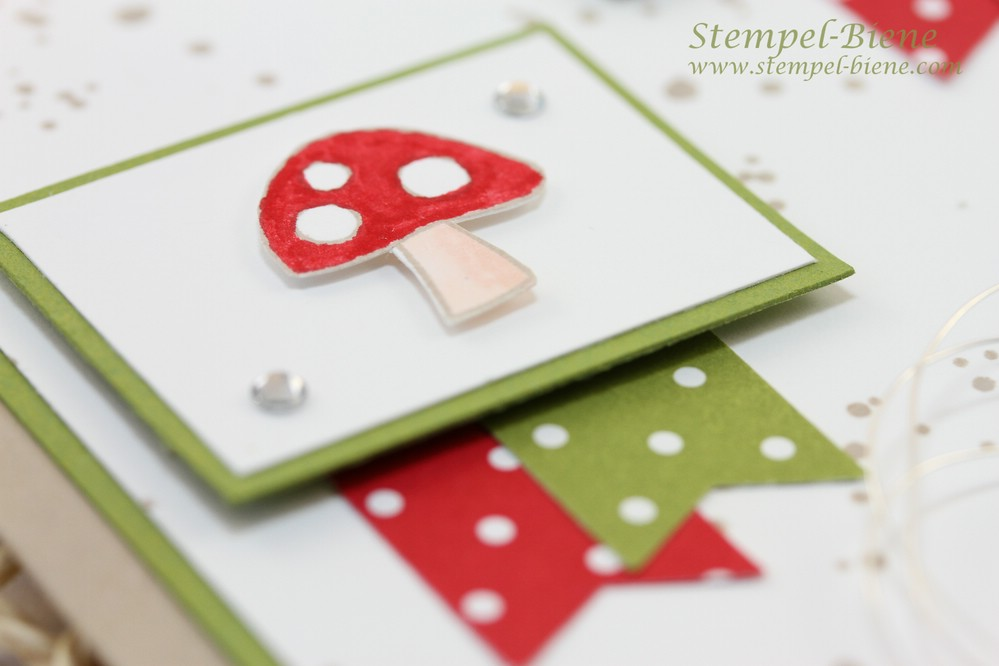 Stampin Up Gute Besserungskarte, Stampin Up Glückwunschkarte, Stampin Up Life in the Forest, Stampin up Aus dem Häuschen, Stampin Up Bestellen, Stampin Up Winterkatalog 2014, Stampin Up Recklinghausen