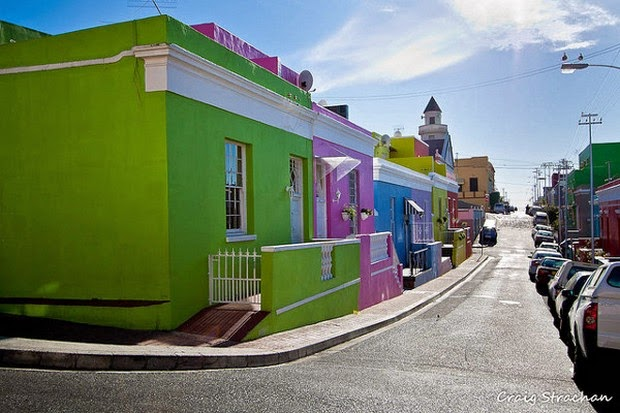 World's 10 most colorful cities - Bo Kaap, Cape Town, South Africa picture